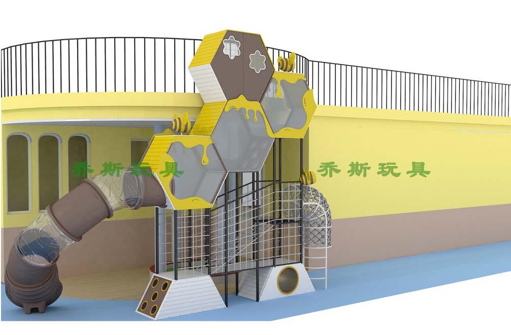 香港漫绿幼儿园-蜂窝拓展